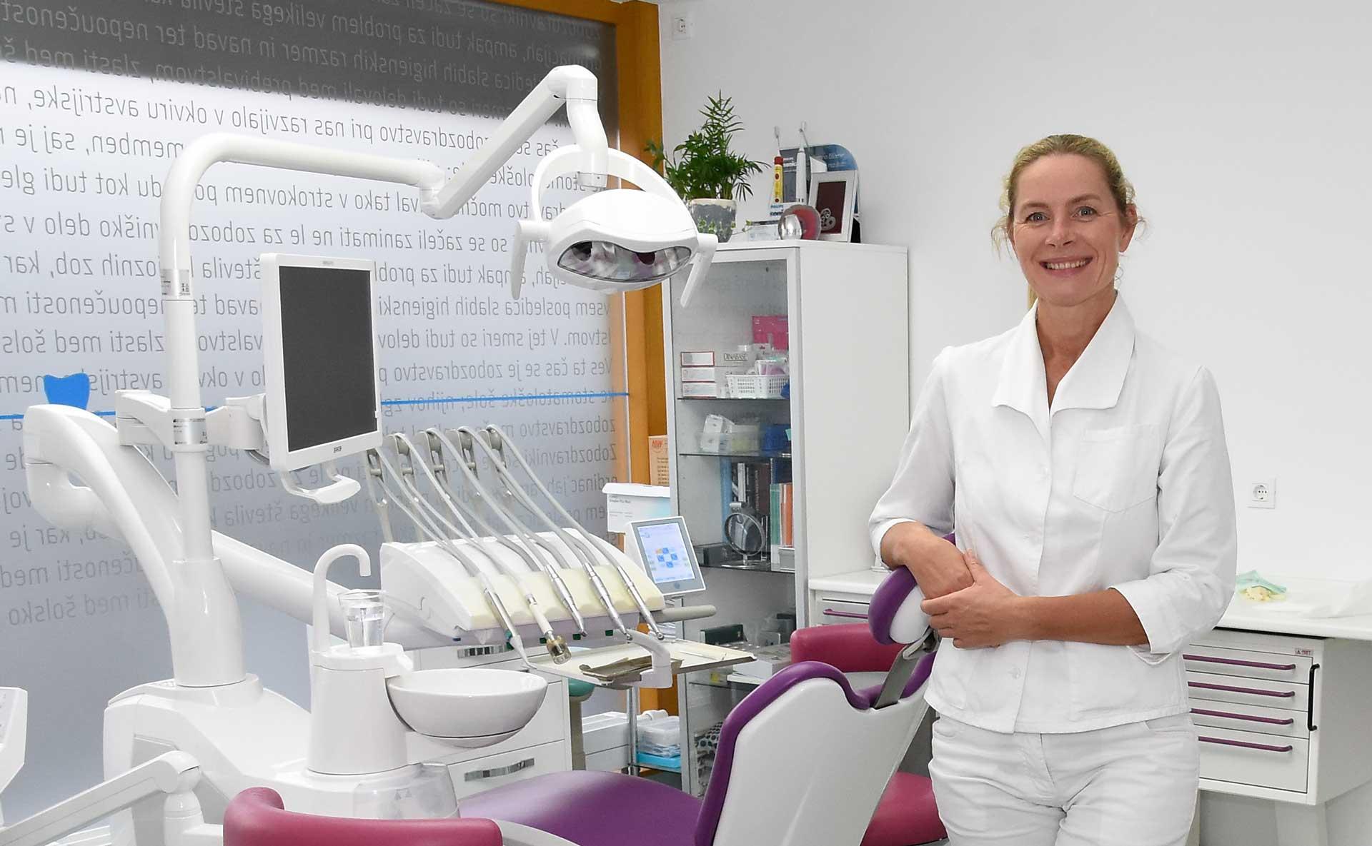 Zobozdravnica v ordinaciji